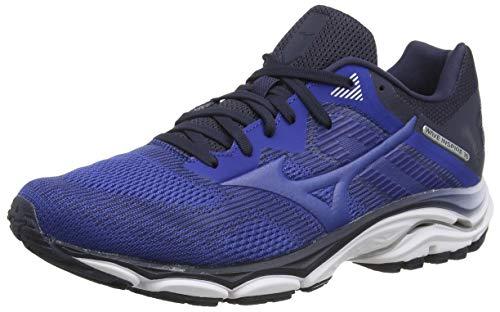 Mizuno Wave Inspire 16, Zapatillas de Running para Hombre, Azul (Blue/Blue/Navy Bla ZR 29), 45 EU
