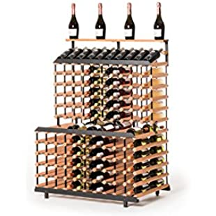 'Brand Wood raxi Vinothek AB 180 bottles - Vinothek Wine Rack Shelf, WPAT180
