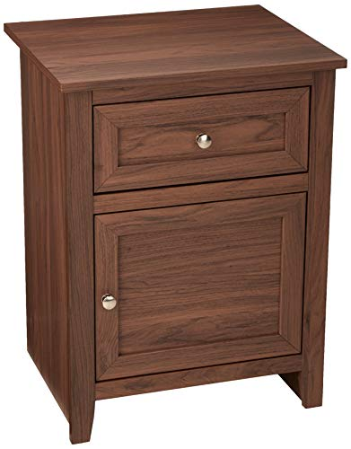 AmazonBasics Classic Wood Nightstand End Table  $54 at Amazon
