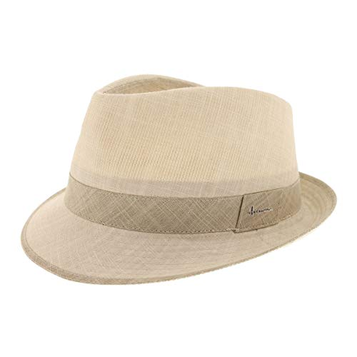 Herman Headwear - Chapeau Petit Bord en Coton Uni