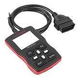 Escáner de motocicleta OBD2 herramienta de diagnóstico, escáner profesional OBD2 lector de código automático herramienta de escaneo automotriz con función de motor