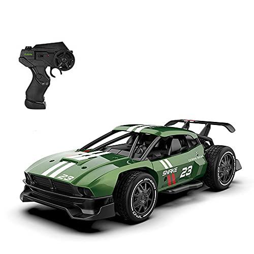 NAMFZX 1:24 Mini Rally Car Coche de control remoto de deriva competitivo de alta velocidad Vehículo de escalada todoterreno de 2,4 GHz Coche de carreras eléctrico Coche de juguete RC favorito de los n