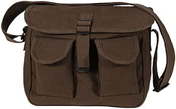 Rothco Canvas Ammo Shoulder Bag, Earth Brown