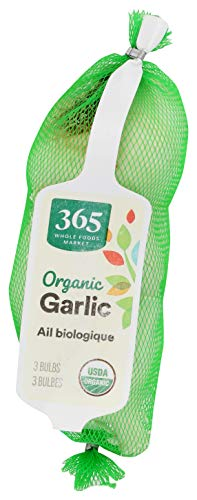 365 by Whole Foods Market, Organic Produce, Garlic, 3 Count