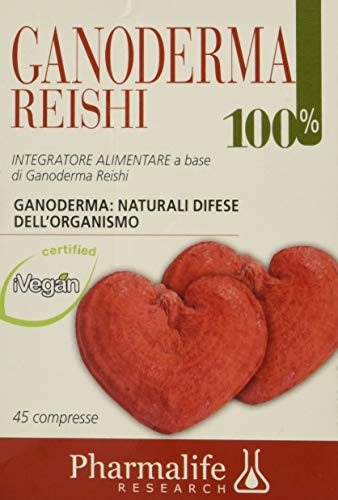 Pharmalife Ganoderma Reishi 100%, 45 Compresse