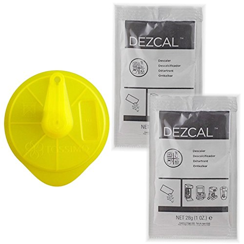 Bosch Tassimo Cleaning Disc + 2 Packs Dezcal Descaler