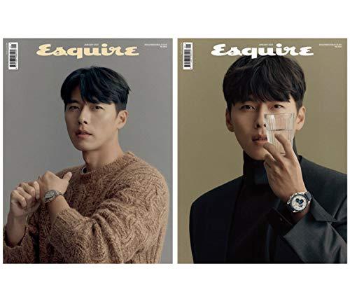 ESQUIRE korea 2021年 1月号 (ヒョン・ビン 表紙/画報,記事掲載) KOREA MAGAZINE hyunbin