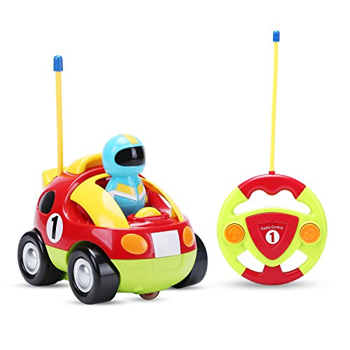 Holy Stone RC Cartoon Race Car with Music & Lights Electric Radio...
