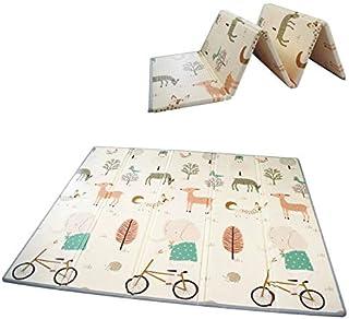 Baby Folding mat Play mat Extra Large Foam playmat Crawl mat Reversible Waterproof Portable Double Sides Kids Baby Toddler...