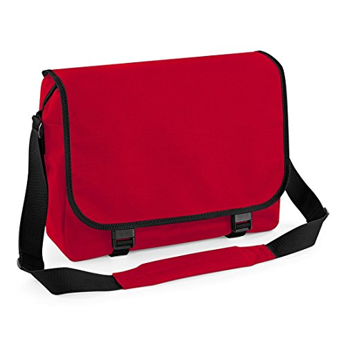 BAGBASE MESSENGER BAG (CLASSIC RED)