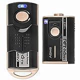 Impulsfoto SMDV RFN-4: RF-905 - Disparador Remoto (Compatible con Canon, Fujifilm, Olympus, Samsung, Sigma, Pentax, Contax, Hasselblad, 2,4 GHz, 16 Canales, Alcance de hasta 100 m)