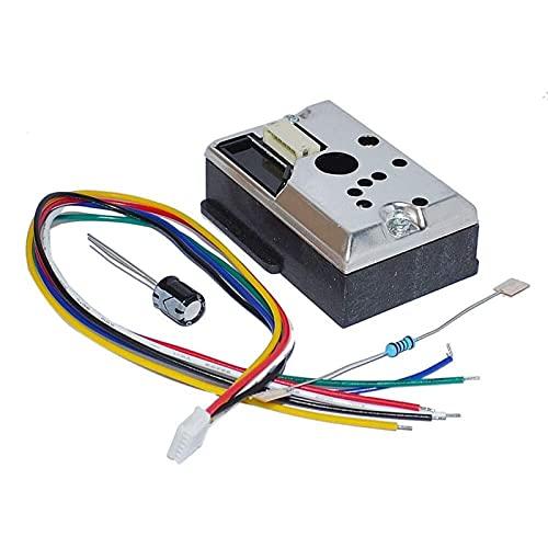 GP2Y1014AU0F Sensore di Polvere Ottico compatti Compatibile GP2Y1010U0F GP2Y1010UDOF Sensore di particella Fumo con Cavo