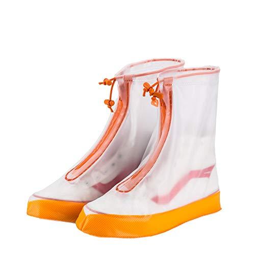 Chaussures de vélo de vélo couvre bottes Chaussures de vélo couverture, bottes de pluie imperméables chaussures couvre pour femmes hommes enfants antidérapant réutilisable lavable pluie bottes de neig