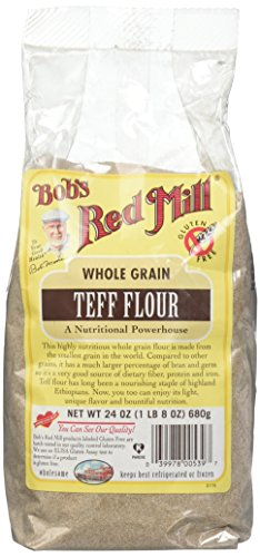 Bob's Red Mill Whole Grain Teff Flour, 24 Ounce