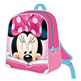 ARTESANIA CERDA Cerdá - Mochila Infantil 3D de Minnie Mouse - Licencia Oficial de Dinsey Studios