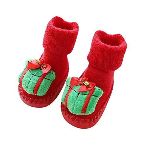 Wankd Calcetines para bebé, Navidad, invierno, algodón, 0 – 2 años, para...
