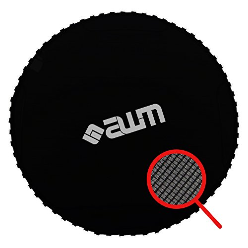 AWM Trampolin Sprungtuch PP-Mesh Sprungmatte Trampolinsprungtuch Trampolinzubehör Jump Mat (460 cm (108 V-rings-165mm Spring)