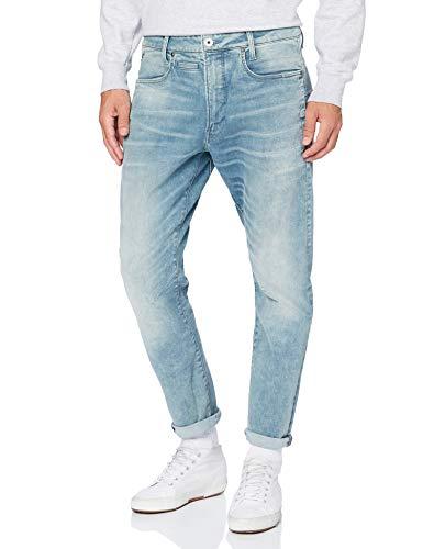 G-STAR RAW D-STAQ 3D Slim Jeans, Sol se desvaneció scanda Azul...