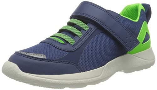 Superfit Rush Sneaker, BLAU/GRÜN, 33 EU