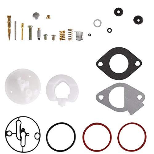 ZAMDOE Vergaser Reparatursätze für Briggs & Stratton Motoren Master Overhaul and Nikki Vergaser, Ersetzen 796184 796081 698787 699900 699521 792369 790032