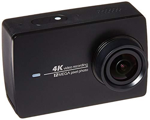 YI 4K Action-Kamera (gebündelt 3-Achsen Gimbal Stabilisator und Selfie Stick Bluetooth Remote) schwarz