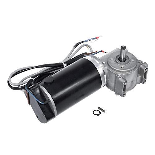 Motor de puerta eléctrico DC 24 V 60 W/100 W con motor de engranaje de gusano con codificador inteligente para hoteles, puerta automática, 24V-100W, 220 RPM