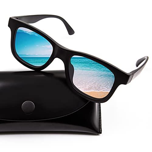 HOMESTEC Gafas Sol Polarizadas 0,1 s Atenuación automática, Lentes De Sol Para Hombre Y Mujer, De Sombra Para Pesca, Ciclismo, ProteccióN UV