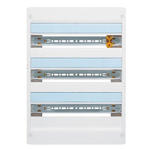 Legrand 401223 Drivia IP30 IK05 Coffret, 18 Modules, 3 Rangées, 625mmx355mmx103.5mm, Blanc