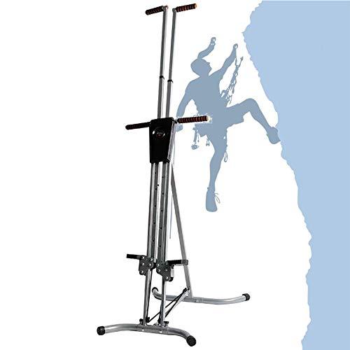 XLanY Máquina de Ejercicios cardiovasculares Vertical Climber, Steppers Ajustables para Ejercicio, Space Walker, Equipo de Fitness para el hogar para Entrenamiento en intervalos de Alta Intensidad