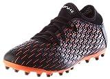 PUMA Future 6.4 MG, Zapatillas de Fútbol Hombre, Negro Black White Shocking Orange, 45 EU