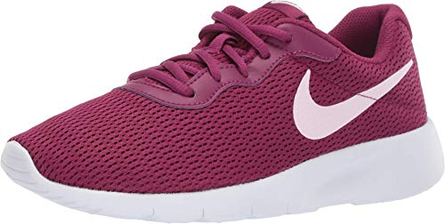 Nike Tanjun (GS), Chaussures d'Athlétisme Femme, Multicolore (True Berry/Pink Foam/White 606), 37.5 EU