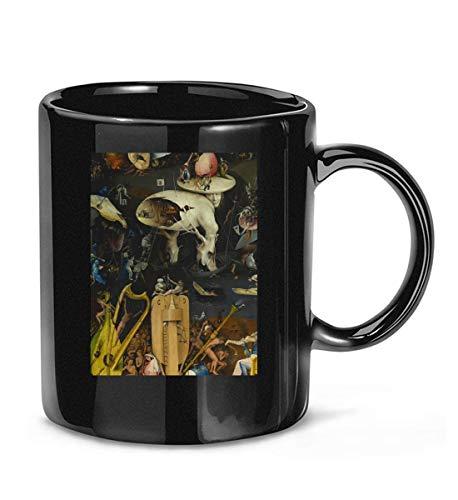 N\A El jardín de Las delicias de Hieronymus Bosch Taza de café clásica para Mujeres y Hombres Tazas de té