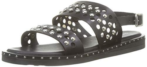 Gioseppo 49084, Sandalias con Punta Abierta Mujer, Negro (Negro 000), 39 EU (Zapatos)