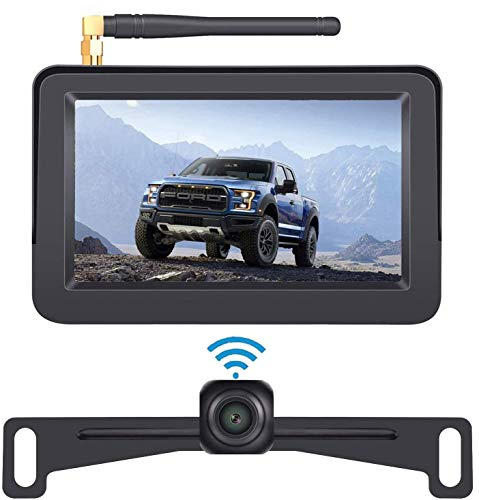DoHonest HD 1080P Digital Wireless Backup Camera Kit with 5 Inch TFT...
