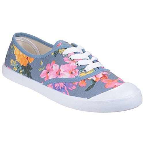 Divaz - Zapatillas Deportivas Ellie de Estampado Floral para Mujer señora (38 EU) (Lavanda)