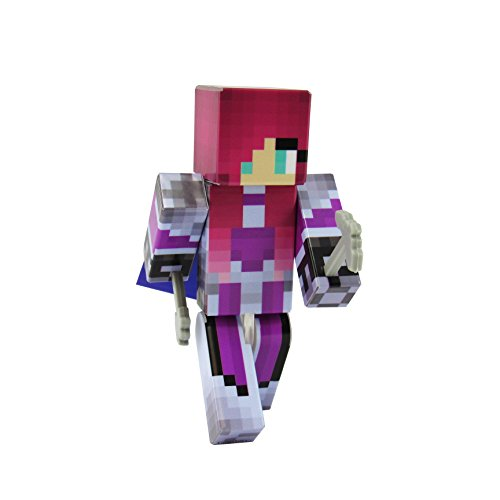 EnderToys Knight Girl Action Figure Toy, 4 Inch Custom Series Figurines