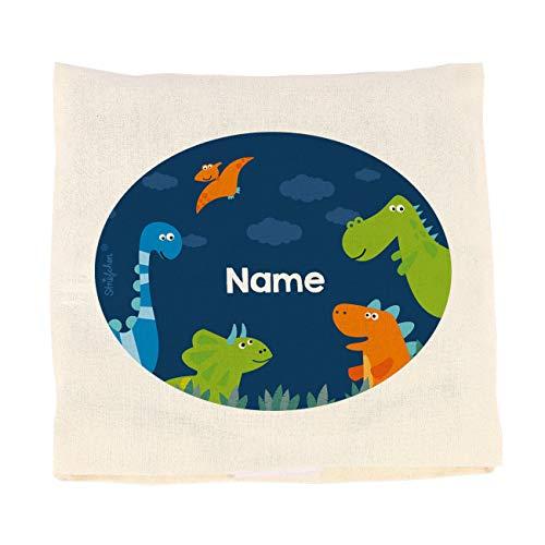 Striefchen® Kirschkernkissen für Kinder mit Dinos und Ihrem Wunschnamen
