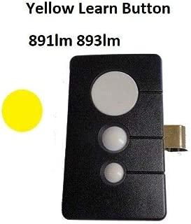 891LM Chamberlain 950ESTD COMP Remote Garage Visor 3 Button MyQ Sec+ 2 893LM