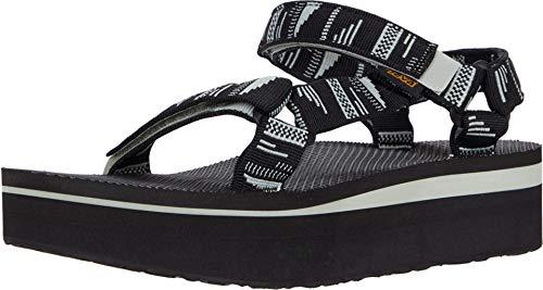 Teva Unisex Flatform Universal Sandal, CHARA BLACK