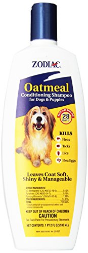 Zodiac Oatmeal Flea & Tick Dog & Puppy Conditioning Shampoo