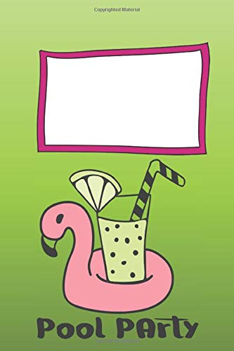 Pool PArTY Cute Pink Flamingo Notebook Blush Notes: Trendy Pink Tropical Flamingo Composition Notebook for Creative Lettering and Note-taking Gift for Girls