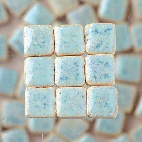 MosaicMicros 5x 5x 3mm 10g (Azulejos de Mosaico de cerámica esmaltado Mini,...