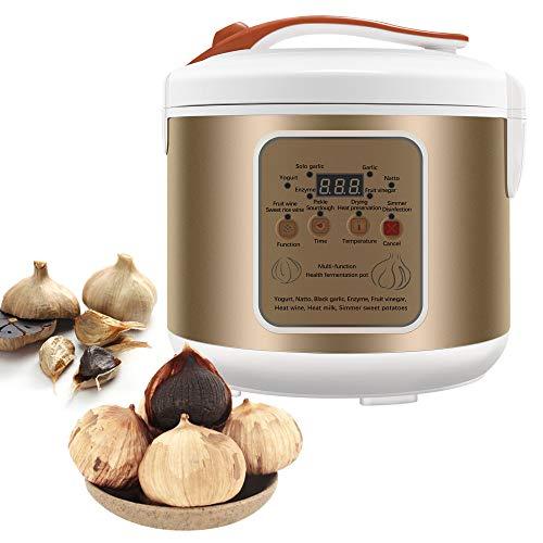 TTLIFE Fermentador de ajo Negro 5L Máquina de fermentación Inteligente Máquina de Yogur, Kimchi, Máquina de Vino de arroz Dulce, Masa, vinagre y enzima, Máquina Completamente automática