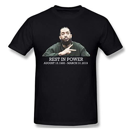 Nip_ey-Hu_SLE Herren-T-Shirt, kurzärmelig, bequem Gr. 6XL, Schwarz