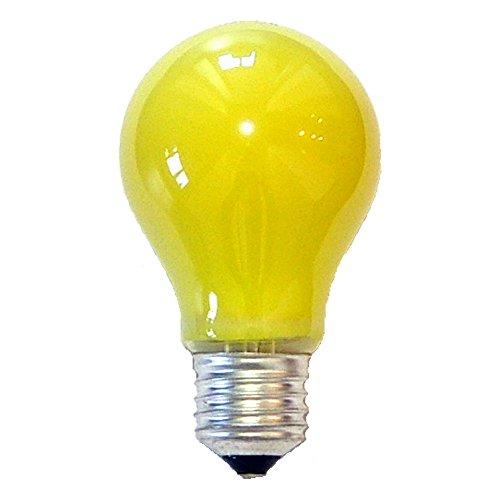 LED Bombilla Forma de Pera Anti Insectos 5W E27Amarillo