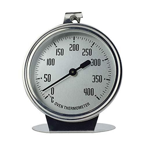 Edelstahl-Ofenthermometer 0-400 °C, Ofen Große Dial Thermometer, Edelstahl Backofenthermometer Für Lebensmittel Kochen Braten Fleisch