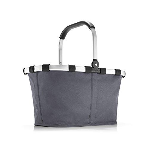 reisenthel carrybag graphite Maße: 48 x 29 x 28 cm/Volumen: 22 l