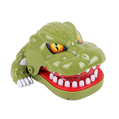 NUOBESTY Dinosaurier Beißen Finger Spiel Lustiges Spielzeug Kinder Spiele Krokodil Zähne Spielzeug Kinder Partei Begünstigt Zufällige Farbe