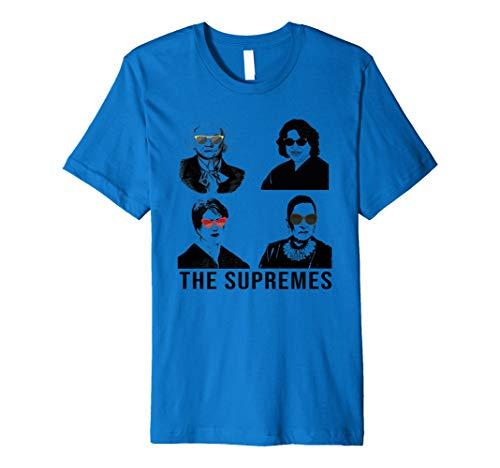THE SUPREMES Woman with sunglasses RBG Premium T-Shirt