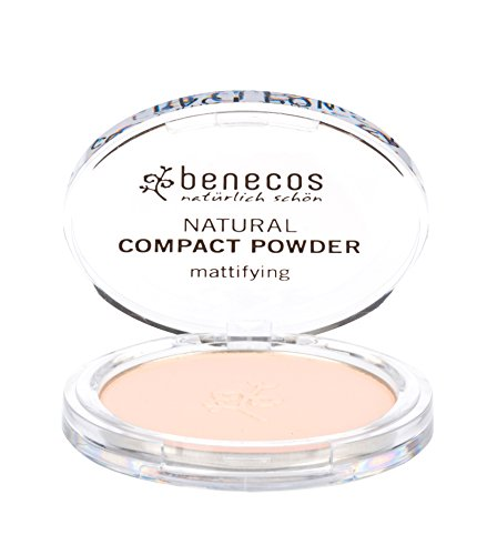 enecos Natural Mattifying Compact Powder – Fair
